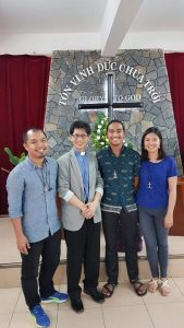 Visitors from the UMC Philippines