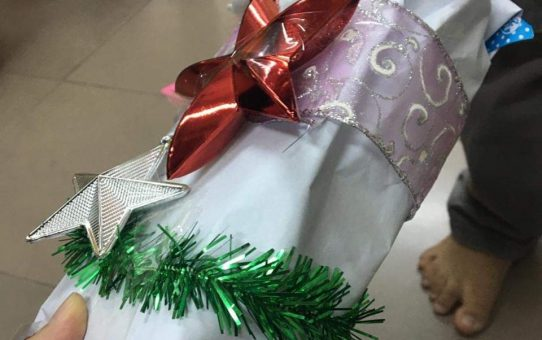 A Christmas Gift for Jesus from ICF Children Handicraft